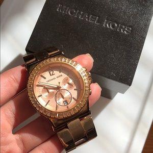 MIchale Kors watch Rose gold